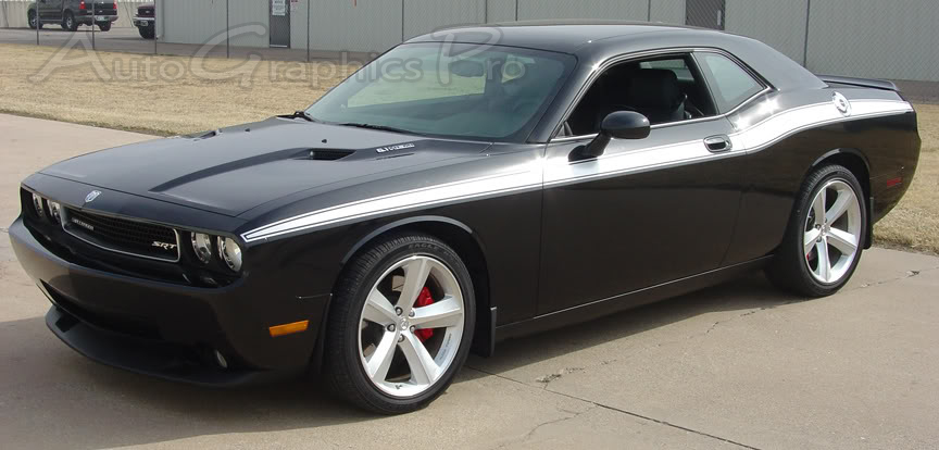 2008 2010 And 2011 2018 Dodge Challenger Stripes Classic