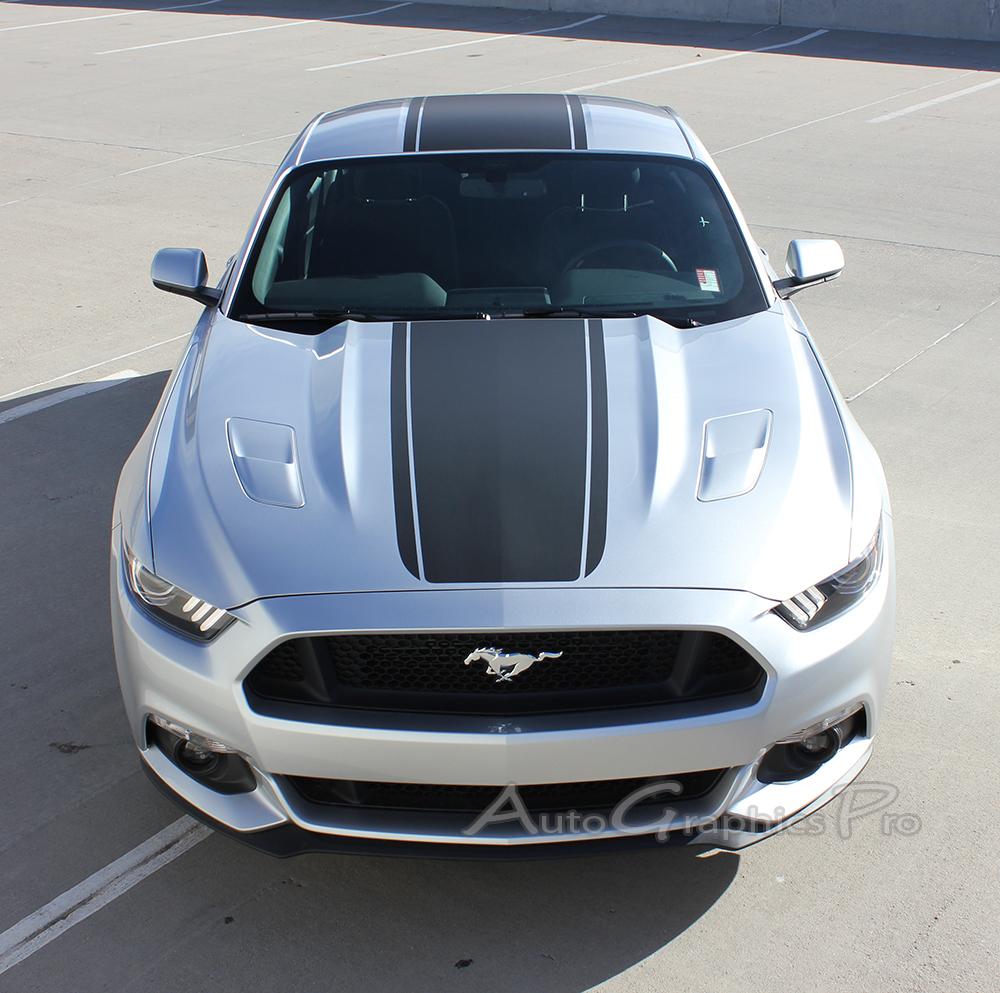 "2015 2016 2017 Ford Mustang Super Snake ""MEDIAN"" Mohawk"